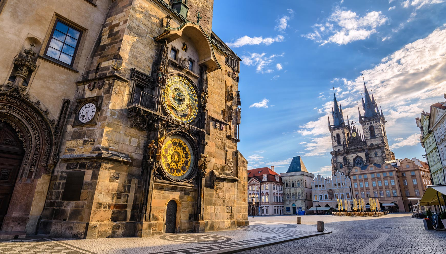 The Old Town Square in Prague